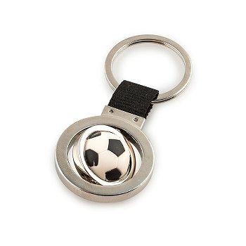 football keyring, zinc alloy