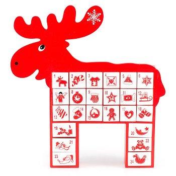 """Adventskalender """"Rudolph"""""""