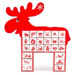 "Advent Calendar ""Rudolph"""
