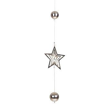 Stern mit Kugeln