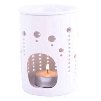 "Duftlampe ""Porcelain Blowball"", H11,5 cm"