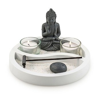 "Buddha-Set ""Yin and Yang"""