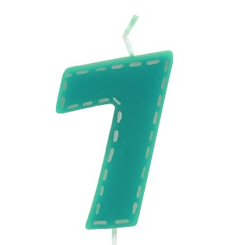"""Birthday candle """"number 7"""""""