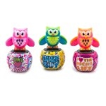"Solar-Owl ""Funny Birdies"", 3 assorted,"
