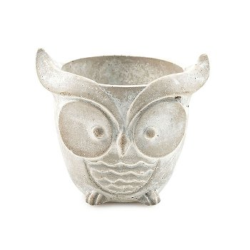"""Cover pot """"Owl"""" round size S"""