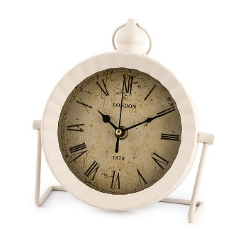 """Uhr """"London II"""" weiß"""