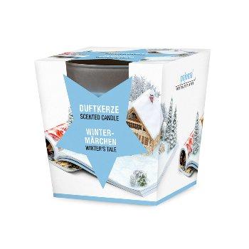 "Duftkerze im Glas ""Wintermärchen"""