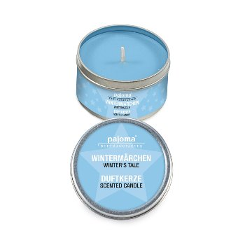 "Scented tin-candle Winter Tale ""mini"""