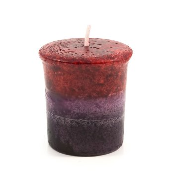 Marble votive candle Vanilla & Cinnamon