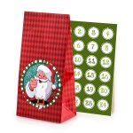 "Advents-bags ""Santa Claus"", 24 pcs.,"