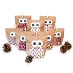 "Craft kit ""Christmas Owl red"""