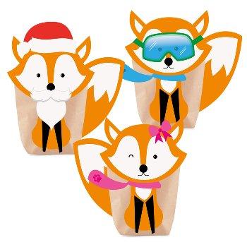 "Bastelset ""Foxy Christmas"""