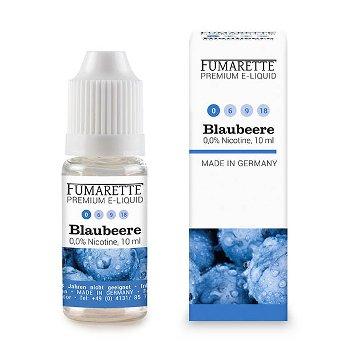 E-Liquids, Blaubeere 0mg/ml