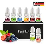 E-Liquids, 8er-Set 6mg/ml Frucht