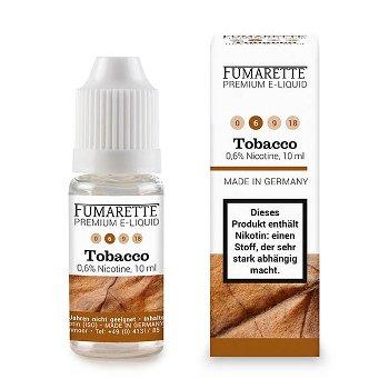 E-liquid, Tabacco 6mg/ml