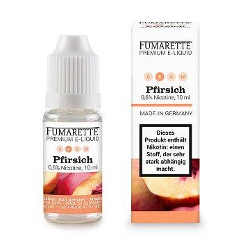 E-liquid, Peach 6mg/ml