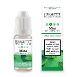 E-liquid, Mint, 6 mg/ml, H 6,7 x ø 2 cm