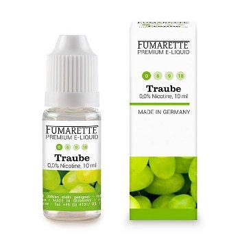 E-Liquids, Traube 0mg/ml