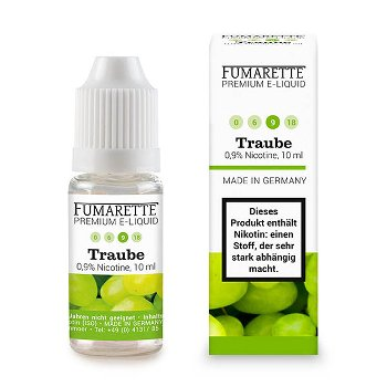 E-Liquids, Grape 9mg/ml