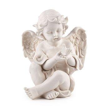 "Angel ""Camael"", polyresin, H 29.5 cm"