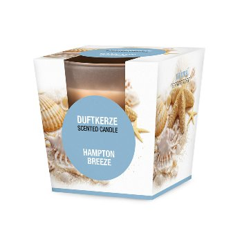 "Scented glas candle ""Hampton Breeze"""