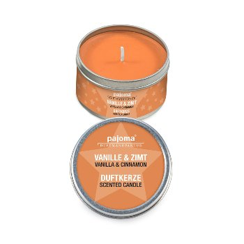 "Scented candle in tin ""Vanilla &"