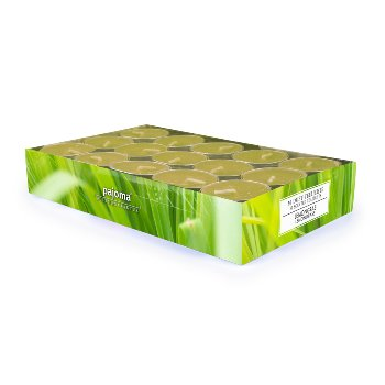 Scented tealight Lemongrass Set/30