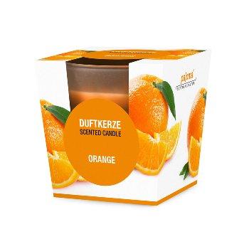 "Duftkerze im Glas ""Orange"""