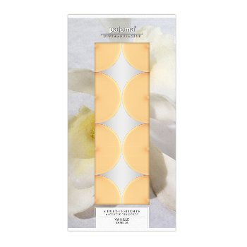 Scented tealights Vanilla, Set/8