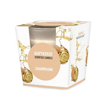 "Scented candle ""Champagne"""