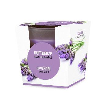 Duftk.Lavendel/Glas Box