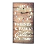 "Wall clock ""Friends & Family"""