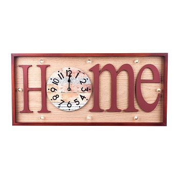 "Wanduhr ""Home"""