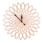 "Wall clock ""flower"""