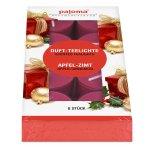 Scented tea lights Apple-Cinnamon, Set