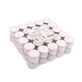 Teelichte unbeduftet, 8 Std., 50 Stück