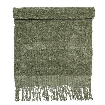 Teppich, Grün aus Baumwolle von Blooming