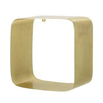 Regal Box aus Metall, Gold von Bloomingv