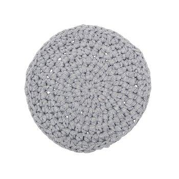 Trivet, Grey, Cotton Ø20 cm