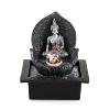 """Fountain """"Silver Buddha"""", polyresin,"""