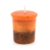 Marble votive candle Christmas scent