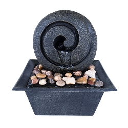 """Fountain """"wellness"""", polyresin,"""