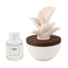 Room fragrance with ceramic flower