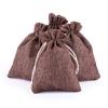 """Jute bags set """"Brown"""", 24 pcs.,"""
