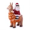 "Christmas Alpaca ""Cool Santa"""