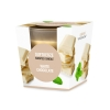 """Scented glas candle """"White Chocolate"""""""