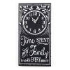 """Wall clock """"Family-Time"""""""