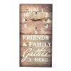"Wall clock ""Friends & Family"""