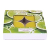 Maxi scented tealights Lemongrass