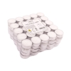 unscented tealights, 4hrs, 100 pieces